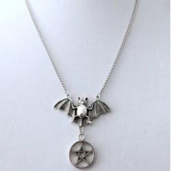Goat Pentagram Necklace