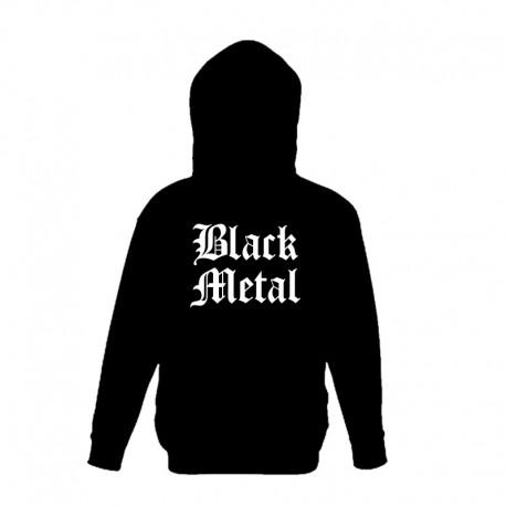 Sweat com Capuz - Black Metal