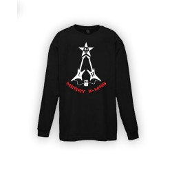 Kids Long Sleeve - X-mas Guitars