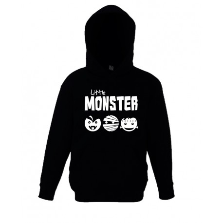 Mini Hooded Top - Little Monster