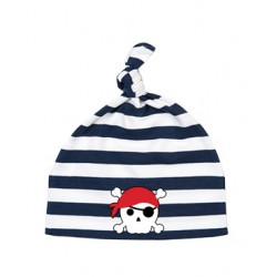 Hat - Pirate Skull Red