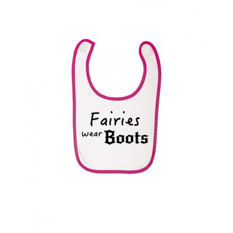 Bib -  Fairies wear Boots