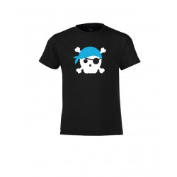 Mini - Pirate Skull Blue