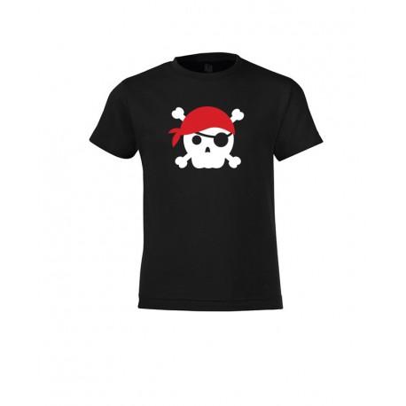 Mini - Pirate Skull Red