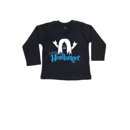 Long Sleeve Bebé - Little Headbanger