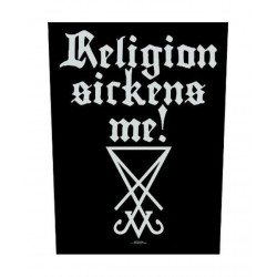 Backpatch - Dimmu Borgir - Religion Sickens Me!