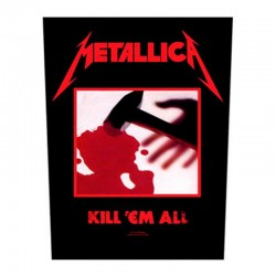 Backpatch  - Metallica - Kill 'em All