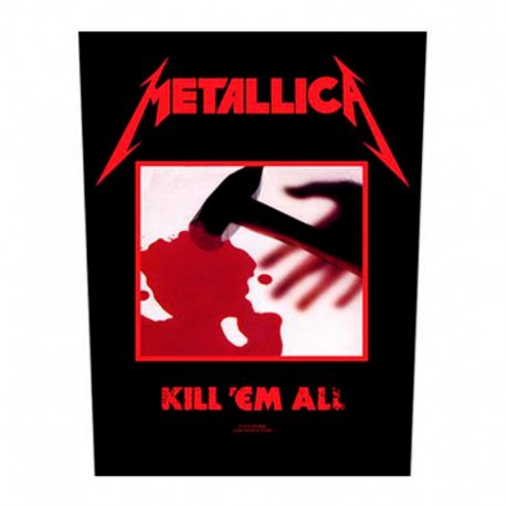 Dorsal - Metallica - Kill 'em All