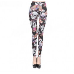 Leggings Colorful Skulls
