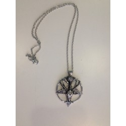 Goat Pentagram Necklace