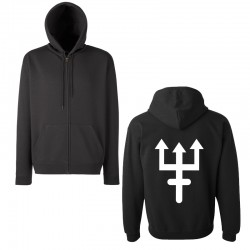 Zipped Hoodie - Trident