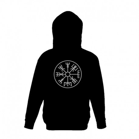 Hooded Top - Vegvísir