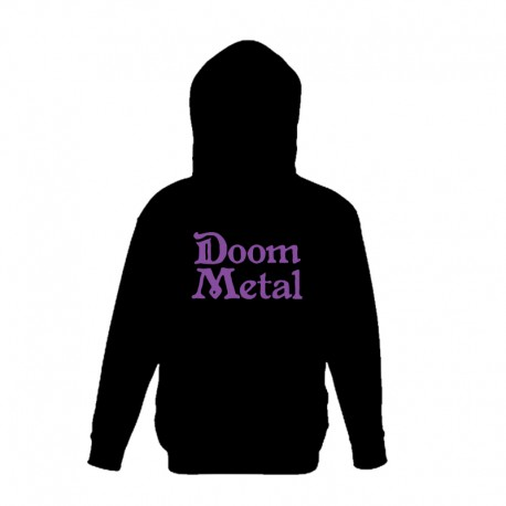 Sweat com Capuz - Doom Metal
