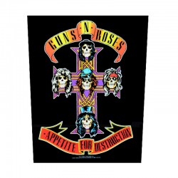 Backpatch - Guns N Roses - Appetite for Destruction