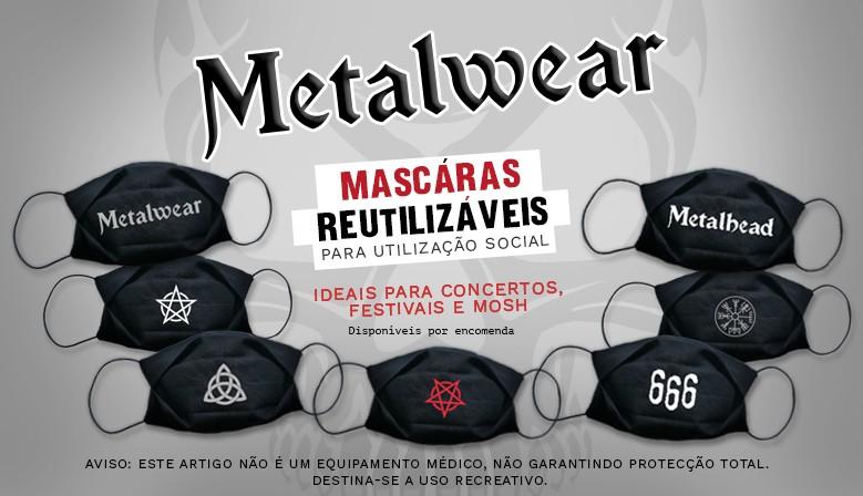 Metalwear - Máscaras Reutilizáveis